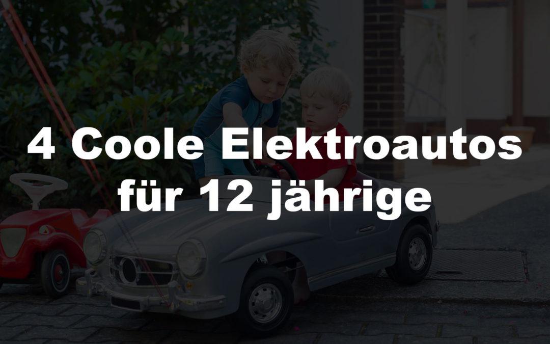 4 coole Elektroautos für 12 jährige