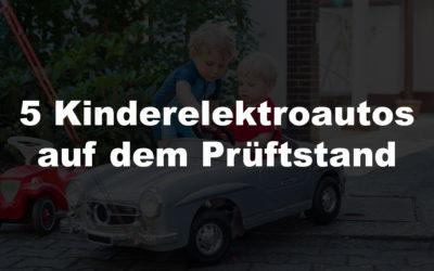 5 coole Kinderelektroautos