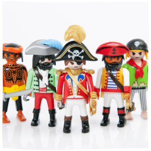 Playmobil Figuren in Piraten Optik