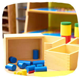 Montessori Holz-Spielzeug