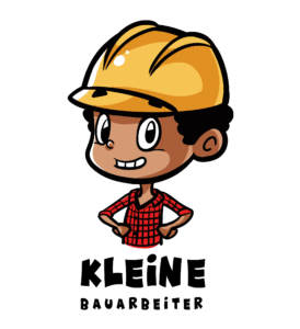 logo kleine bauarbeiter