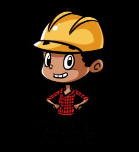 Kleine Bauarbeiter