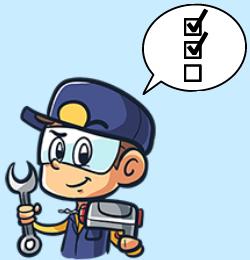 Checkliste Kleine Handwerker