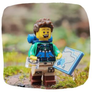 Lego Wanderer Mit karte