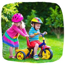 Dreirad für Kinder ab 3 Jahren